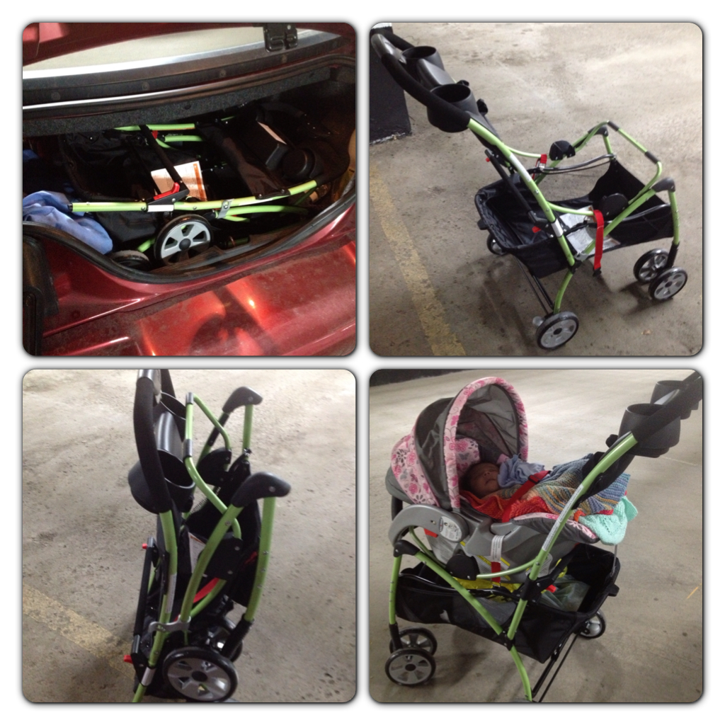 I Drive A Convertible Mustang And With My Current Baby Trend Stroller It Does Not Fit In The Trunk Much Too Large Bulky But Clic